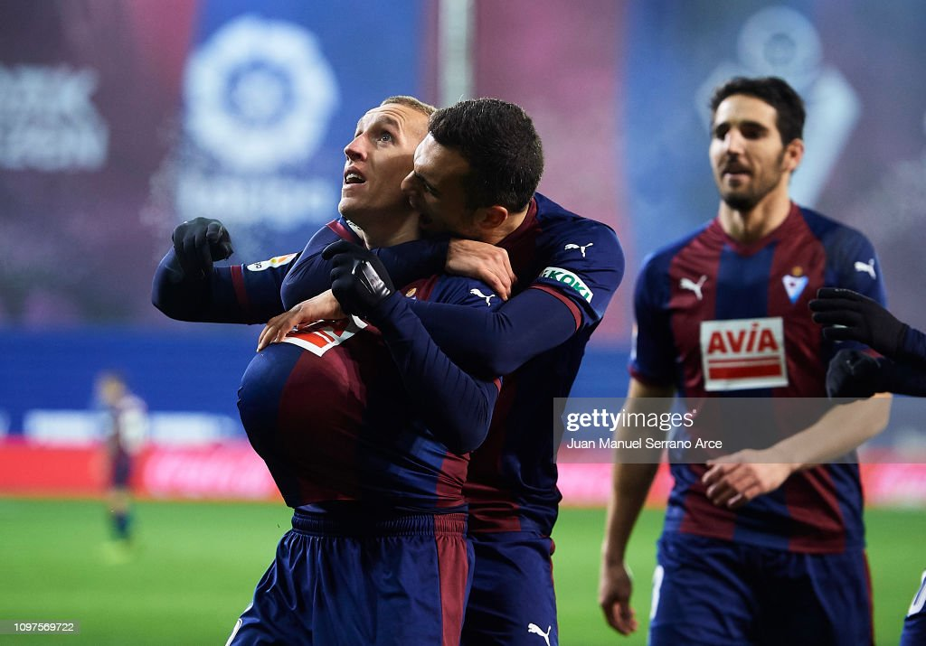 SD Eibar v RCD Espanyol - La Liga : News Photo