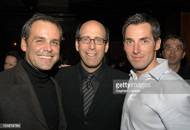 Pablo De Ecchevarria VP of Perry Ellis Matt Blank Chairman and CEO of Showtime Networks and Will Wackerman publisher of Details Magazine