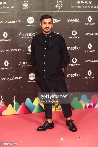 Pablo DiazReixa aka El Guincho attends 'Los40 music awards 2019' photocall at Wizink Center on November 08 2019 in Madrid Spain