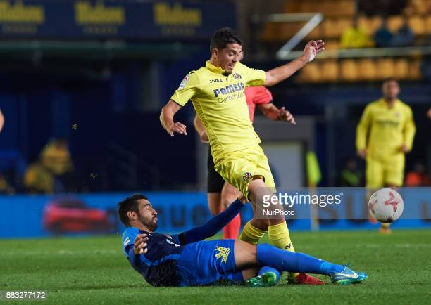Pablo Fornals of Villarreal CF during the Copa del Rey Round of 32 Second Leg match between Villarreal CF and SD Ponferradina at Estadio de la...