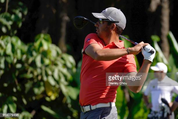 Pablo Larrazabal of Spain in action during day four of the Maybank Championship Malaysia at Saujana Golf and Country Club on February 4 2018 in Kuala...