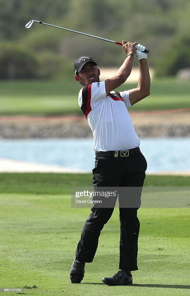 Abu Dhabi HSBC Championship - Day Two