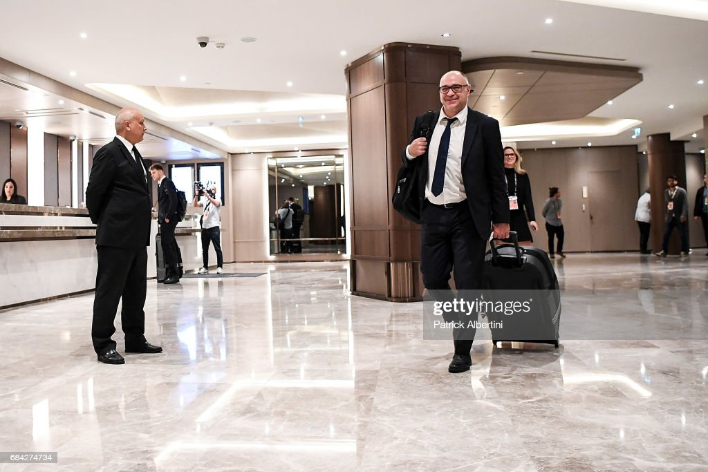 Real Madrid Arrival - 2017 Turkish Airlines EuroLeague Final Four