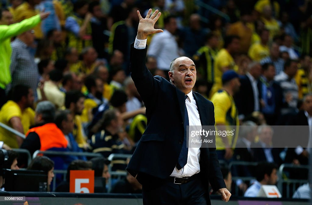 Fenerbahce Istanbul v Real Madrid - Turkish Airlines Euroleague Basketball Play Off