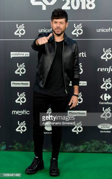 Pablo Lopez attends during 'LOS40 Music Awards' 2018 at WiZink Center on November 2 2018 in Madrid Spain