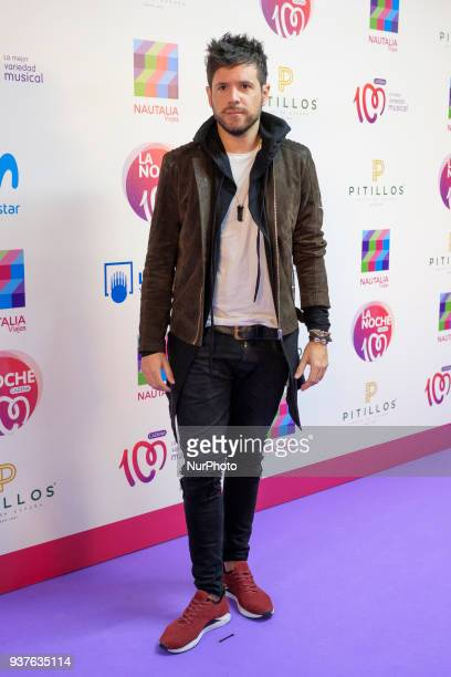 Pablo Lopez attends 'La Noche De Cadena 100' charity concert at WiZink Center on March 24 2018 in Madrid Spain