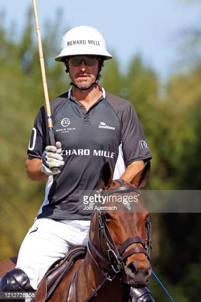 Pablo Mac Donough of Richard Mille rides against Valiente during The Palm Beach Open on March 15 2020 at the Grand Champions Polo Club in West Palm...