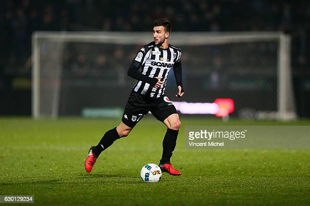 Pablo Martinez of Angers during the French Ligue 1 match between Angers and Nantes on December 16 2016 in Angers France