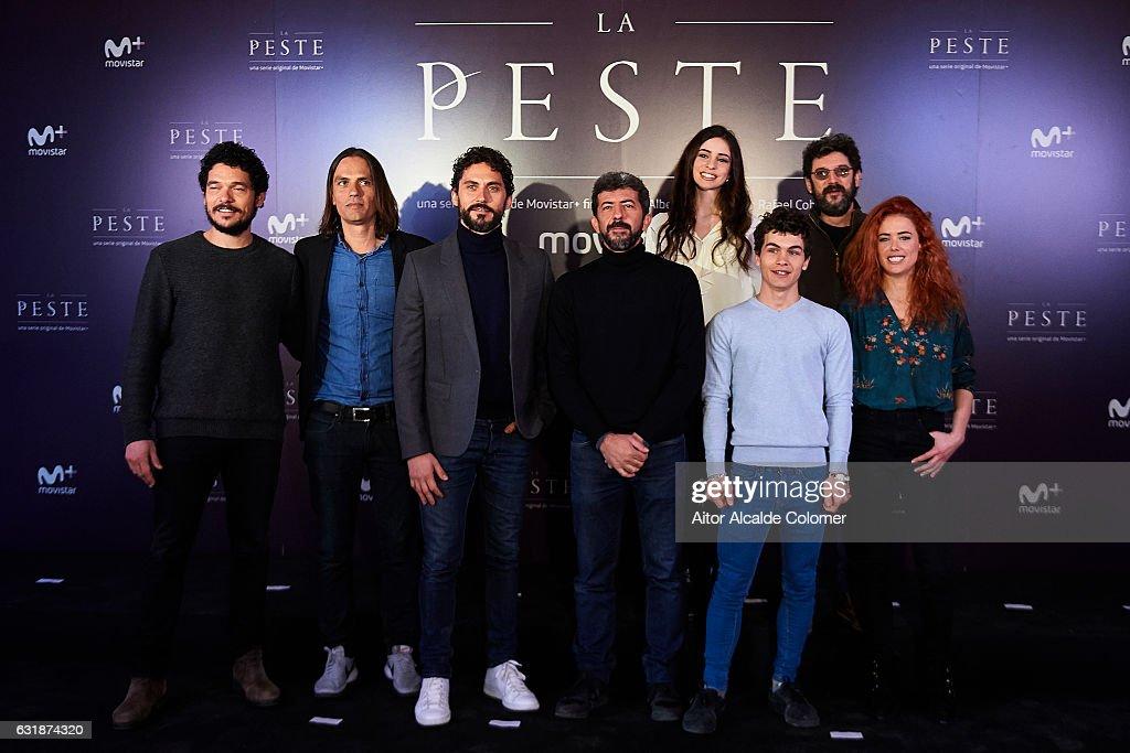 'La Peste' Seville Photocall