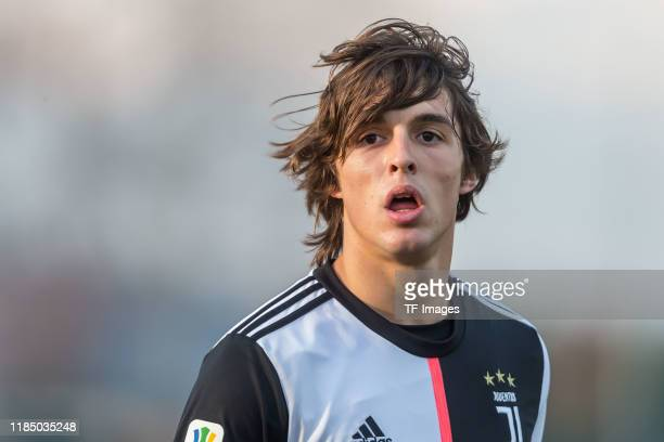 Pablo Moreno of Juventus U19 looks on during the UEFA Youth League match between Juventus U19 and Atletico Madrid U19 on November 26 2019 in Turin...