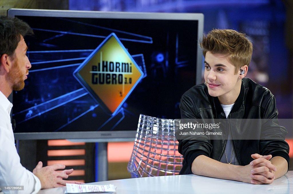 El Hormiguero Justin Bieber
