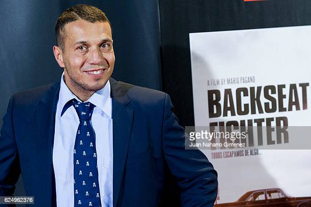 Pablo Navascues attends 'Los Del Tunel' premiere during the Madrid Premiere Week at Callao Cinema on November 21 2016 in Madrid Spain