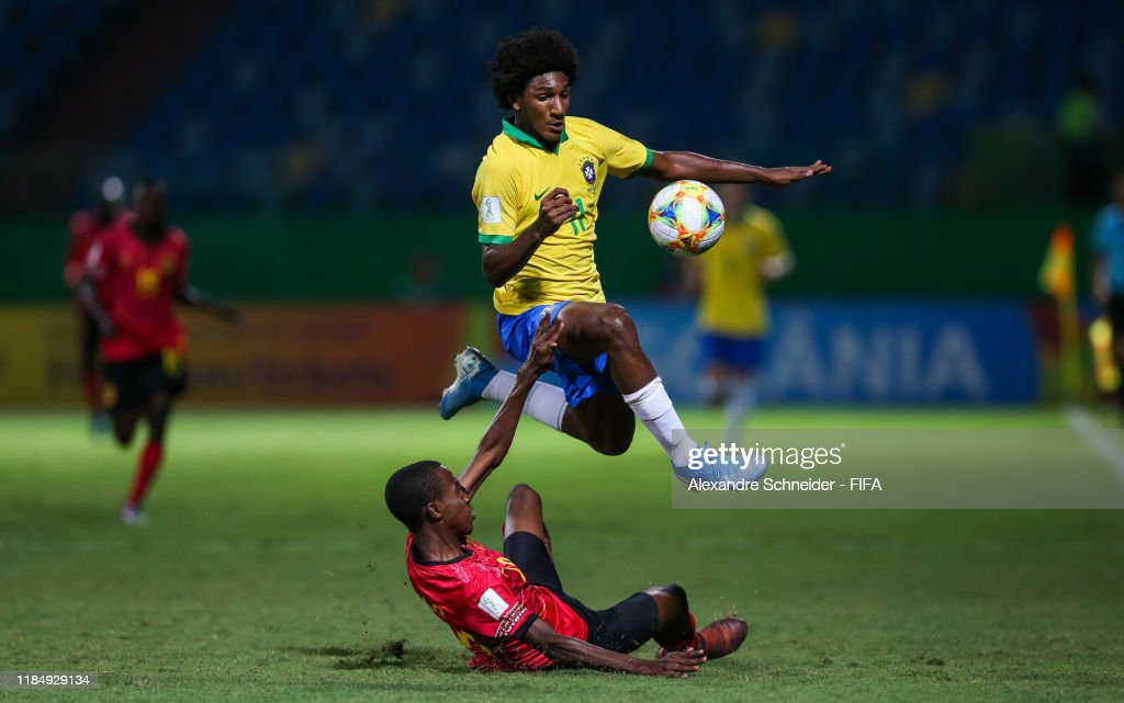 Angola v Brazil - FIFA U-17 World Cup Brazil 2019 : News Photo