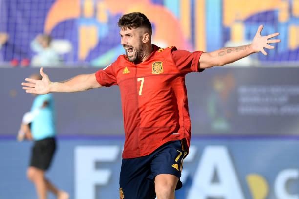 RUS: Spain v United Arab Emirates - FIFA Beach Soccer World Cup 2021