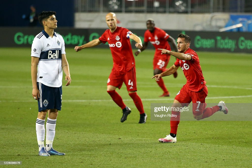 Vancouver Whitecaps FC v Toronto FC : News Photo