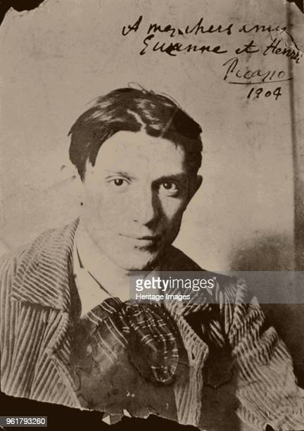 Pablo Picasso 1904 Found in the Collection of Musée Picasso Paris