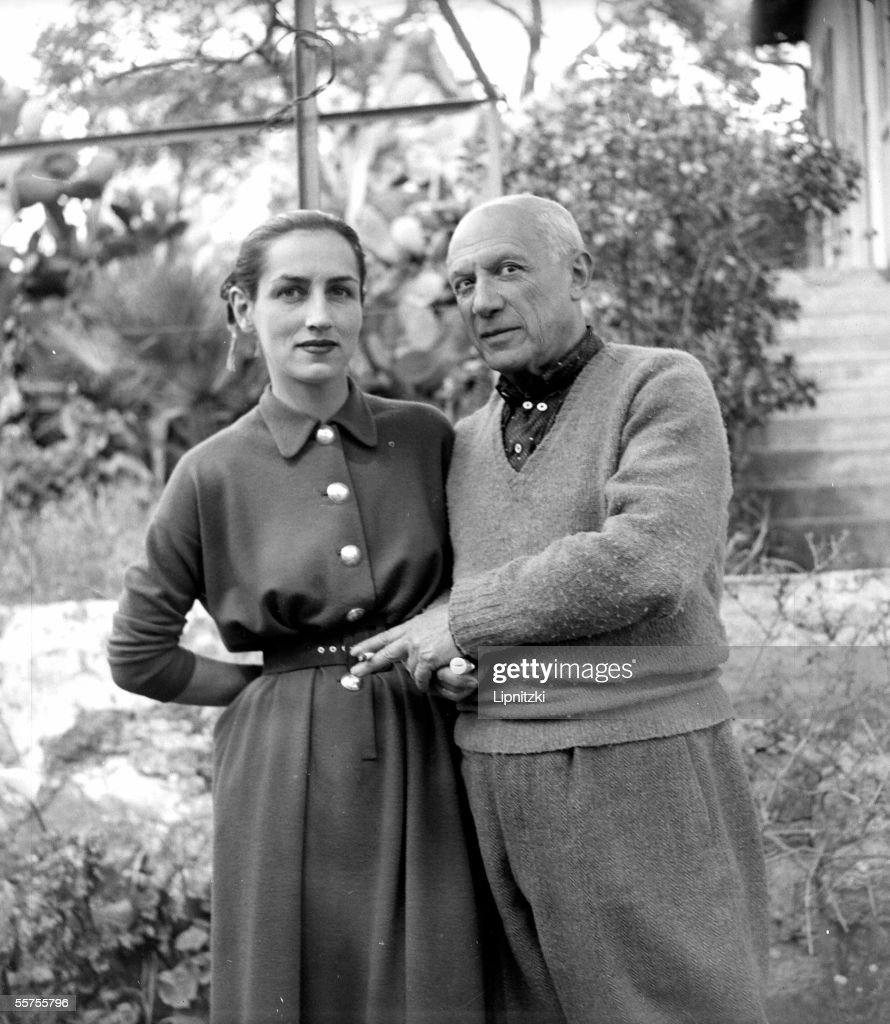 Pablo Picasso and Francoise Gillot, by 1952. LIP-1 : News Photo
