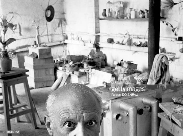 Pablo Picasso In Vallauris