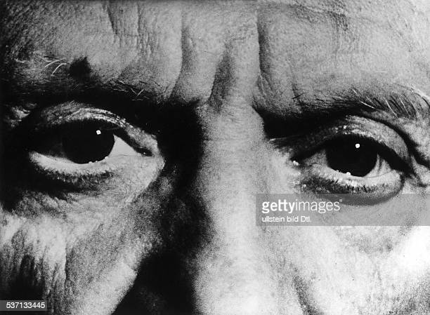 Pablo Picasso Painter France picture of his eyes from The Mystery of Picasso is a 1956 French documentary film about the painter Pablo Picasso...