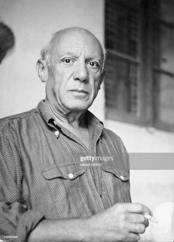 Pablo Picasso pictured in April, 1951.