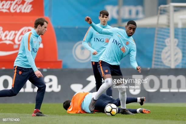 Pablo Rosario of Holland U21 during the Training Holland U21 at the Ciutat Esportiva Dani Jarque on March 25 2018 in Mataro Spain