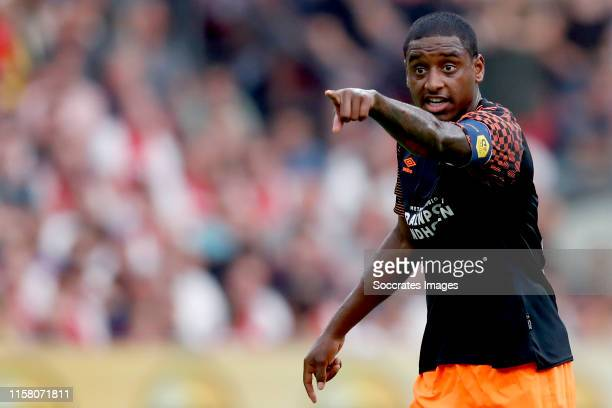 Pablo Rosario of PSV during the Dutch Johan Cruijff Schaal match between Ajax v PSV at the Johan Cruijff Arena on July 27 2019 in Amsterdam...
