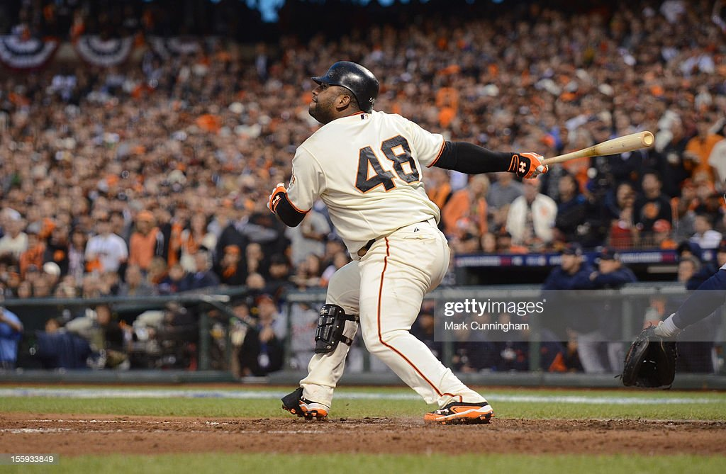 World Series - Detroit Tigers v San Francisco Giants - Game One : News Photo