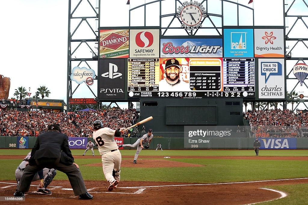 World Series - Detroit Tigers v San Francisco Giants - Game One