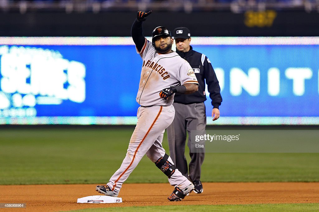 World Series - San Francisco Giants v Kansas City Royals - Game Seven : News Photo