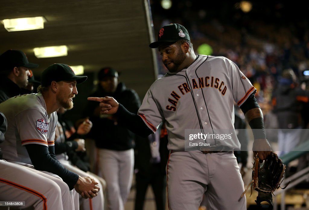 World Series - San Francisco Giants v Detroit Tigers - Game 3 : News Photo