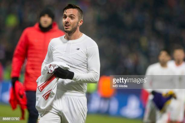 Pablo Sarabia of FC Sevilla during Group E football match between NK Maribor and FC Sevilla in 6th Round of UEFA Champions League on December 6 2017...