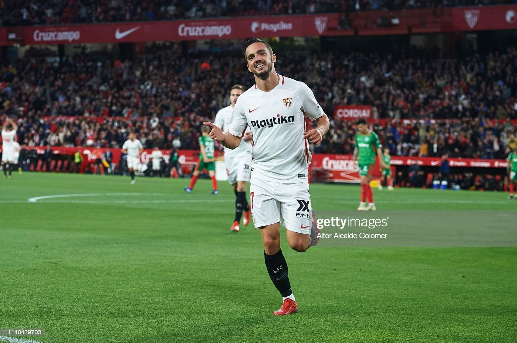 Sevilla FC v Deportivo Alaves - La Liga : News Photo