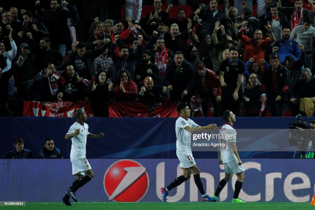 Sevilla FC v Leicester City - UEFA Champions League : News Photo