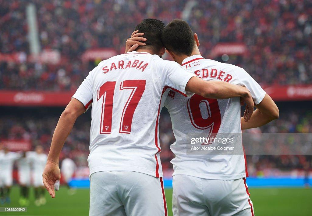 Sevilla FC v Girona FC - La Liga : News Photo