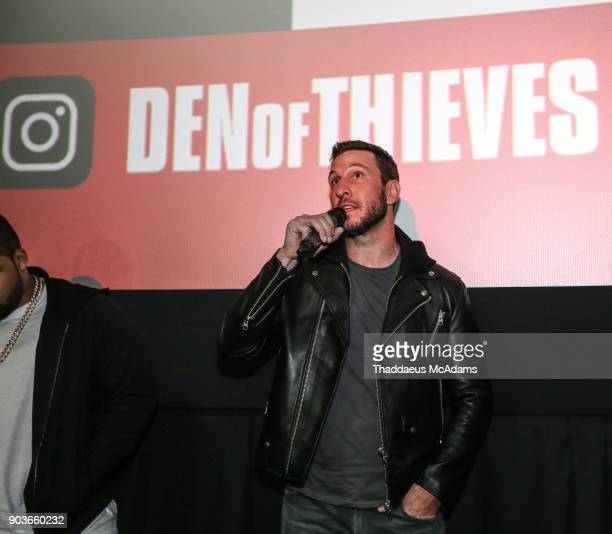Pablo Schreiber at The Den of Thieves special screening at Regal South Beach on January 10 2018 in Miami Florida
