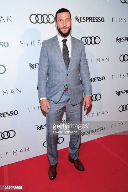Pablo Schreiber attends Audi Canada And Nespresso CoHosted PostScreening Event For First Man During The Toronto International Film Festival
