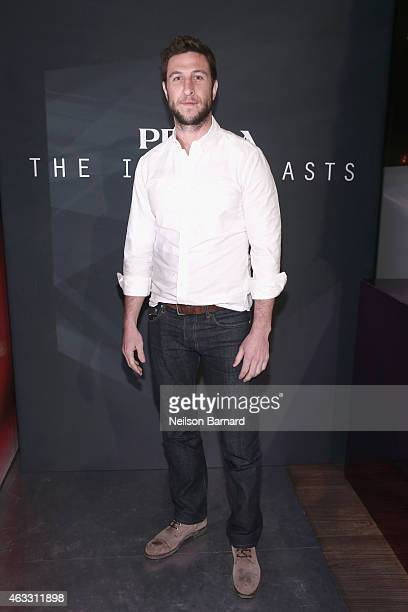 Pablo Schreiber attends Prada The Iconoclasts New York 2015 on February 12 2015 in New York City