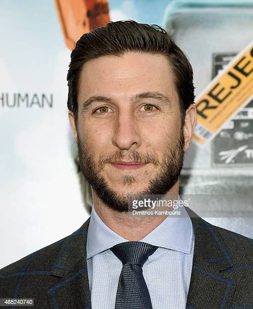 Pablo Schreiber attends the Chappie New York Premiere at AMC Lincoln Square Theater on March 4 2015 in New York City