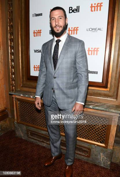 Pablo Schreiber attends the First Man premiere during 2018 Toronto International Film Festival at The Elgin on September 10 2018 in Toronto Canada