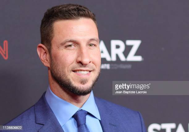 Pablo Schreiber attends the premiere of STARZ's 'American Gods' season 2 at Ace Hotel on March 05 2019 in Los Angeles California