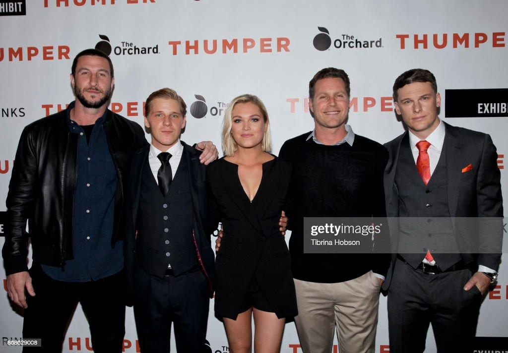 "Premiere Of The Orchard's ""Thumper"" - Red Carpet : Photo d'actualité"
