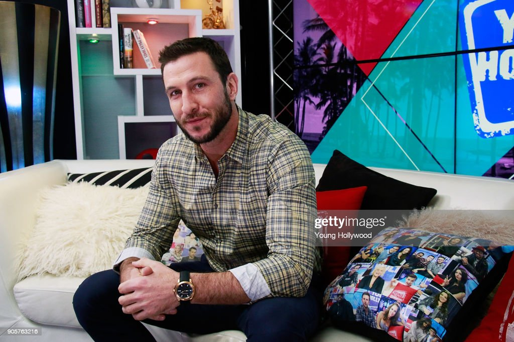 Pablo Schreiber visits the Young Hollywood Studio on January 16, 2017 in Los Angeles, California.