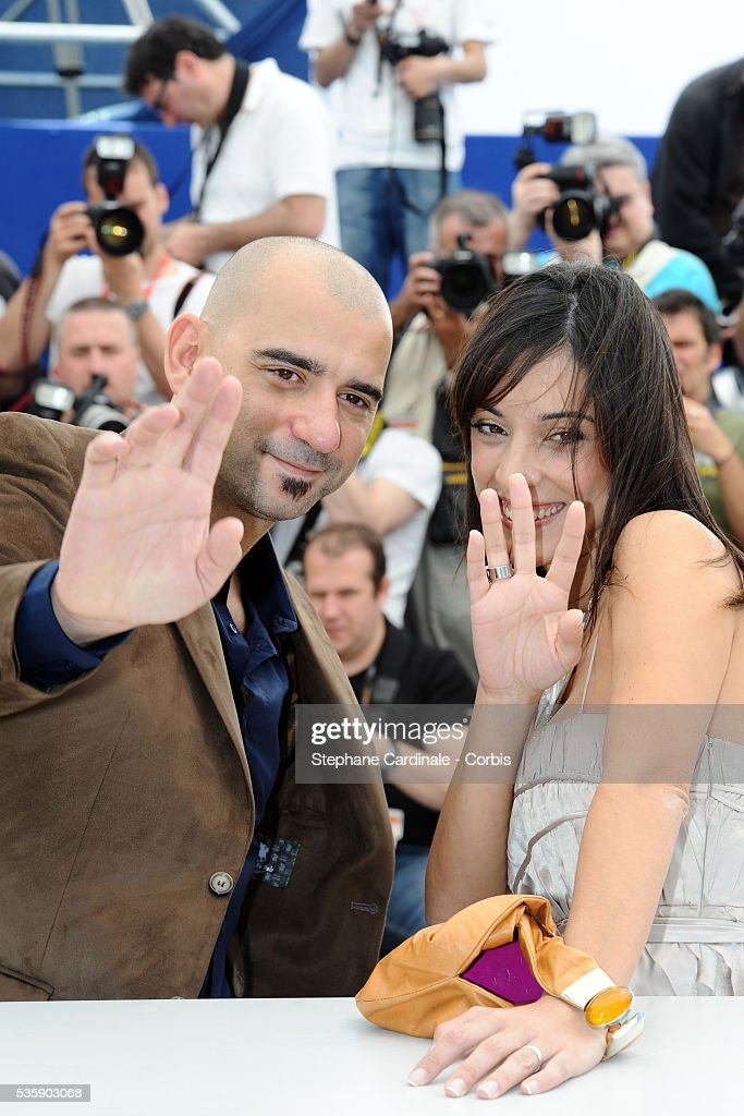 Pablo Trapero and Martina Gusman at the Photocall for 'Carancho' during the 63rd Cannes International Film Festival.