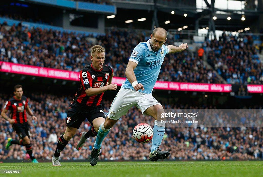 Manchester City v A.F.C. Bournemouth - Premier League : News Photo