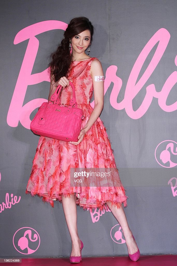 Pace Wu Promotes Barbie In Taipei
