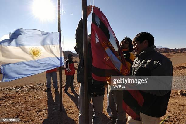 Pachamama, Fiesta Nacional a la Madre Tierra, Tolar Grande, Province of Salta, Argentina, South America.