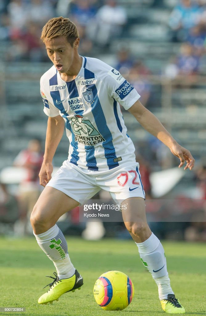 Football: Pachuca's Honda Pictures | Getty Images