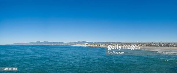 pacific beach blue - la waterfront stock pictures, royalty-free photos & images