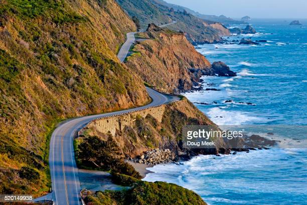 Pacific Coast Highway at Sunset