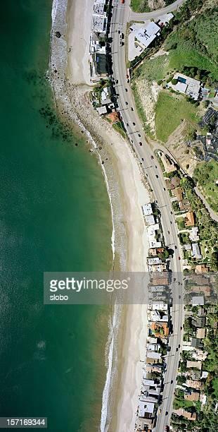 pacific coast highway - malibu foto e immagini stock